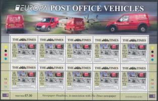 2013 Europa CEPT Postai járművek kisív Mi 1876