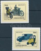 2013 Europa CEPT Postai járművek öntapadós sor Mi 3603-3604