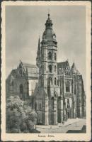 Kosice, cathedral, Kassa, dóm