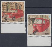 2013 Europa CEPT Postai járművek ívszéli sor Mi 1817-1818