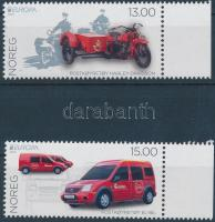 2013 Europa CEPT Postai járművek ívszéli sor Mi 1816-1817