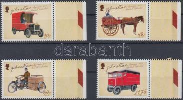 Europa CEPT Postal vehicles margin set, Europa CEPT Postai járművek ívszéli sor