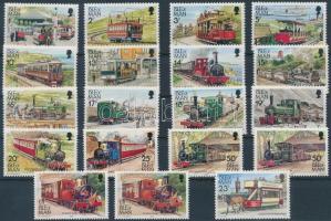 1988-1992 Mozdony 2 klf sor + változatok + 5 klf bélyegfüzet összefüggés Mi 351-362 + 381-384 + 457-458 + 490-491 + bélyegfüzet MH 25