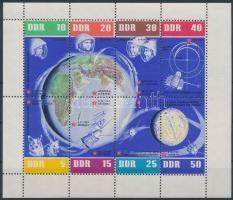 1962 5 éves a szovjet űrkutazás kisív Mi 926-933