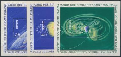 1964 A nyugodt Nap éve blokk sor Mi 20-22