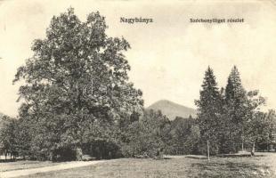 Nagybánya, Széchenyi liget / park (EK)