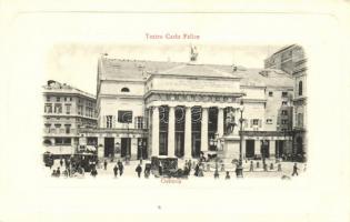 Genova, Teatro Carlo Felice / theatre