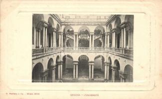 Genova, Universita / university, interior
