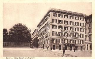 Genova, Hotel Astoria & Belgrano