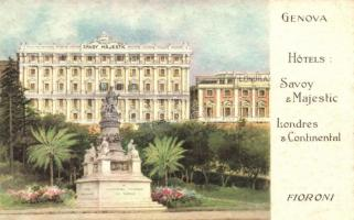Genova, Hotel Savoy Majestic & Londres & Continental