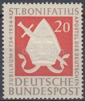 1954 1200 éve hunyt el Szent Bonifác, a németek apostola Mi 199