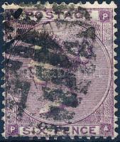 1862 Forgalmi: Viktória királynő Mi 20 I