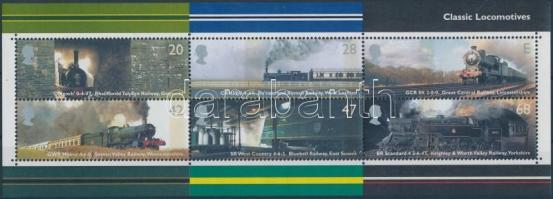 2004 Mozdony blokk Mi 18