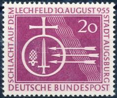 1955 A lechfeldi csata 1000. évfordulója Mi 216
