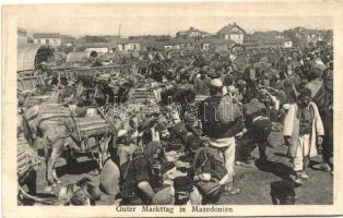 Macedonian folklore, market place, Piactér, macedón folklór