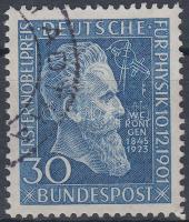1951 Wilhelm Röntgen 50 éve kapott Nobel-díjat Mi 147