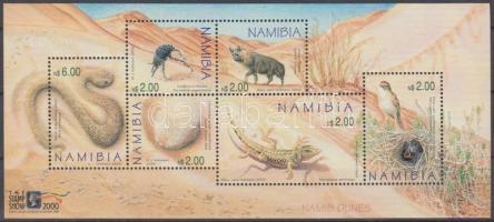 2000 Bélyegkiállítás; Állat blokk Mi 53