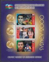2001 Nyári olimpia érmesei blokk Mi 44