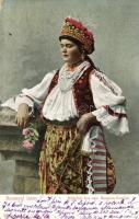Hungarian folklore from Baranya, Baranyai leány
