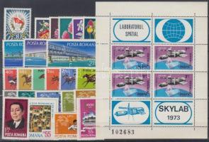 24 diff. stamps and 1 minisheet, 24 klf bélyeg és 1 kisív