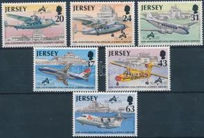 1997 60 éves a Jersey repülőtér sor Mi 777-782