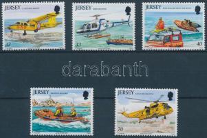 2005 Vízi mentők sor Mi 1163-1167