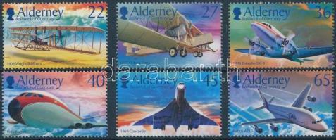 2003 100 éves a motoros repülés sor Mi 206-211