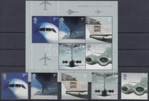 2002 Szállítás (II): Kereskedelmi használatú sugárhajtású repülőgépek sor Mi 2012-2016 + blokk 13