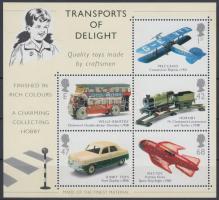 2003 Közlekedés (III): Modell játékok blokk Mi 16