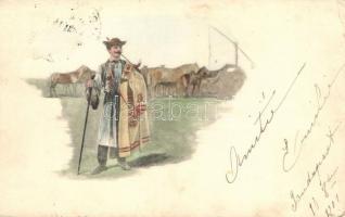 Horseman, Hungarian folklore, Csikós