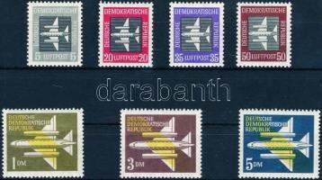 1957 Légiposta bélyeg sor Mi 609-615