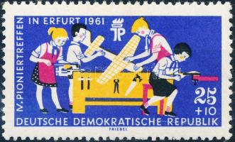 1961 Cserkésztalálkozó Mi 829