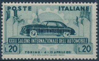 1951 Nemzetközi Autó Kiállítás Mi 828