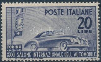 1950 Nemzetközi Autó Kiállítás Mi 790
