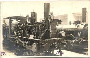 Geschnittene Lokomotive / German cut locomotive, Német vágott mozdony
