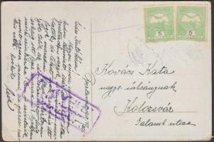 1918 Cenzúrás képeslap