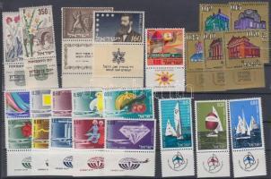 23 diff. stamp with tab, 23 klf tabos bélyeg