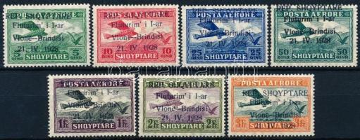 1928 Repülők sor Mi 162-168
