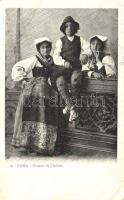 Gruppo di Ciociari / Italian folklore from Rome, Róma, olasz folklór