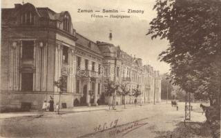 Zimony, Fő utca / main square (EB)