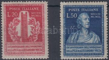 1949 Alessandro Volta sor Mi 784-785