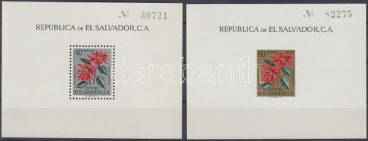 1960 Mikulásvirág blokk sor Mi 6-7