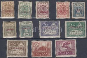 1919 Konzulátus posta Törökországban Mi 1-12