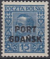 Port Gdansk 1930 Mi 24a