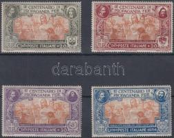 1923 Kongregáció sor Mi 161-164