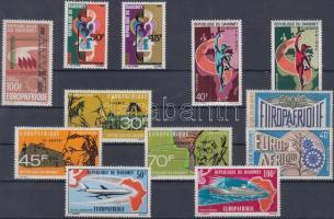 Europafrique 12 diff. stamps, Europafrique 12 klf bélyeg