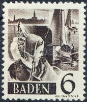 Baden 1948 Forgalmi Mi 31
