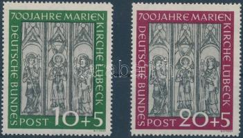 700th anniversary of Mary's Church in Lübeck set, 700 éves a Lübeck-i Mária templom sor