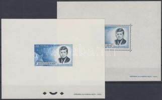 1964 Kennedy fogazott és vágott blokk