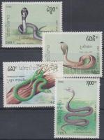 1992 Mérgeskígyók sor Mi 1312-1315